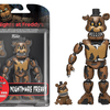 Five Nights At Freddy's Figures With Nightmarionne Build-A-Figure From Funko