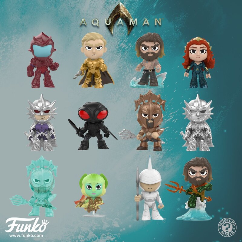 dad741e52e5 New Aquaman Movie POP! Vinyl Figures From Funko