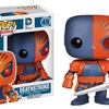 Previews Exclusive Deathstroke POP Regular and Metallic Vinyl Figures