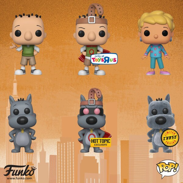 Disney S Doug Pop Vinyl Figures From Funko