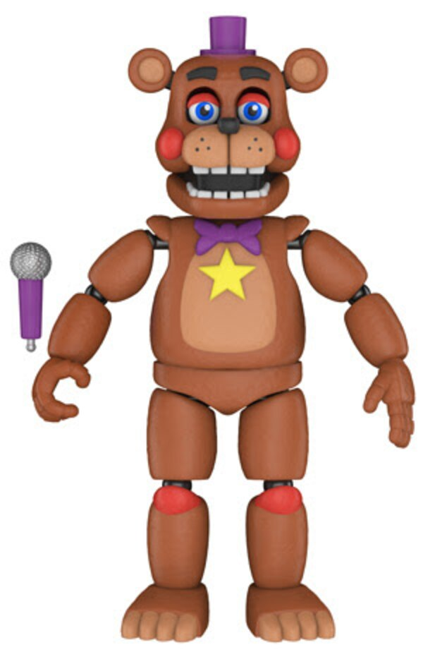 Bye Bye Rick >> New Five Nights At Freddy's Action Figures Coming From Funko