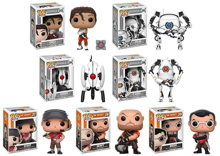 Valve Team Fortress 2 Amp Portal Pop S From Funko