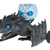 Game of Thrones Night King On Dragon POP! Ride Figure From Funko