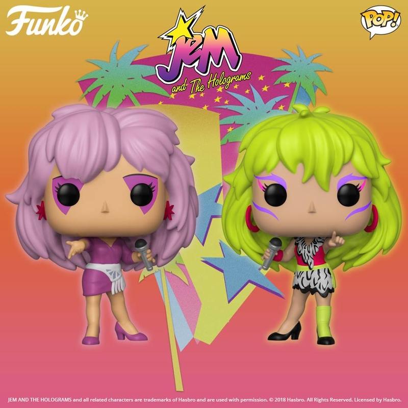 Funko 32782 POP VINILE ANIMAZIONE JEM /& le Holograms Action Figure 479 NUOVO Doll