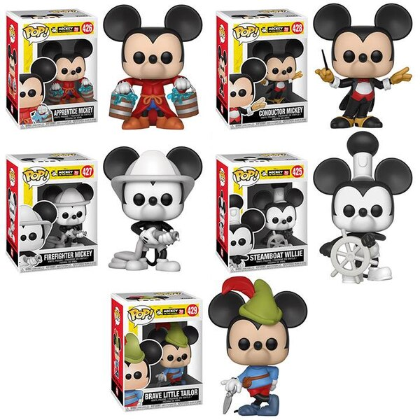 Mickey S 90th Anniversary Pop Vinyl Figures From Funko