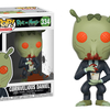 Cornvelious Daniel, & Toxic Rick & Morty Pop Vinyl Figures From Funko