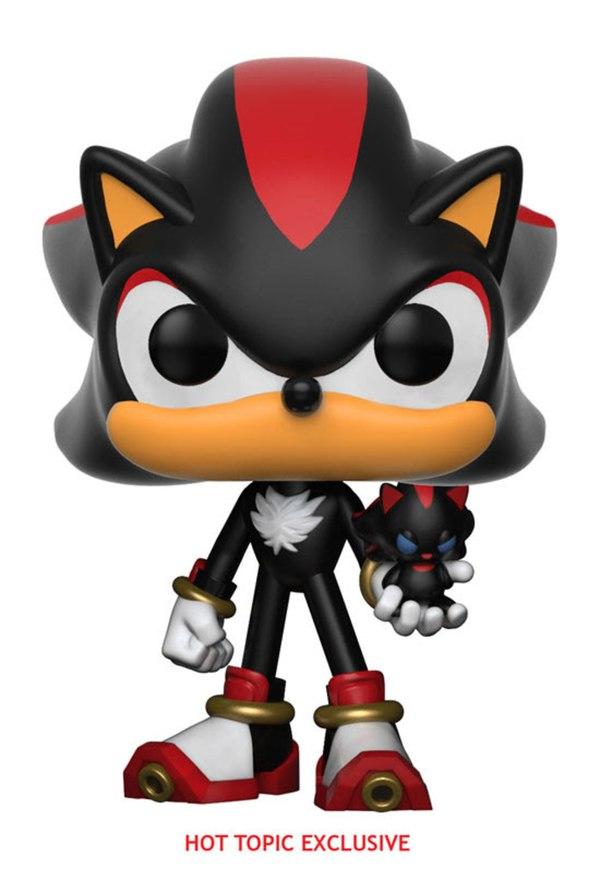 Sonic The Hedgehog Pop Vinyl Figures From Funko