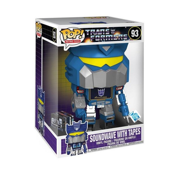 Funko Transformers Soundwave with Tapes 10