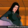 Morgan Lofting, voice of the original Baroness on G.I.Joe Comes To Joecon