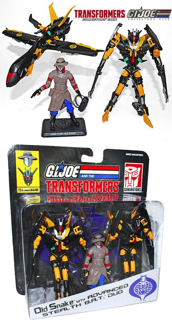 Daily action figures news from around the world collector club transformers gi joe crossover figures released today altavistaventures Choice Image