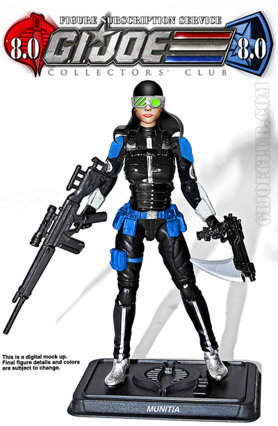 GI Joe Weapon RECOIL Double Gun 1989 Original Figure Accessory