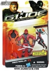 G.I. Joe: Retaliation Red Ninja Carded Image