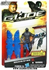 G.I.Joe Retaliation Snake-Eyes & Roadblock Carded Images