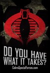 A Message from Cobra Special Forces & Snake-Eyes Delivers