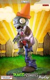 Plants Vs. Zombies - Zombie & Peashooter Statues