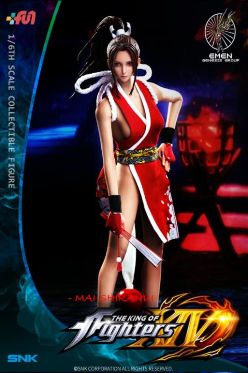 The King Of Fighters Xiv Mai Shiranui 1 6 Scale Figure From