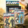 2015 SDCC Exclusive G.I. Joe Retro Snake-Eyes & Rock N' Roll Micro Figure 2-Pack