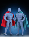 2016 SDCC Exclusive Superman & Batman First Shot Prototype Super Powers Jumbo Figures
