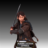 The Hobbit Kili the Dwarf Mini Bust