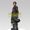Walking Dead Glenn in Riot Gear Statue