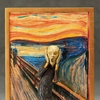 Figma Edvard Munch's 'The Scream' Table Museum Figure