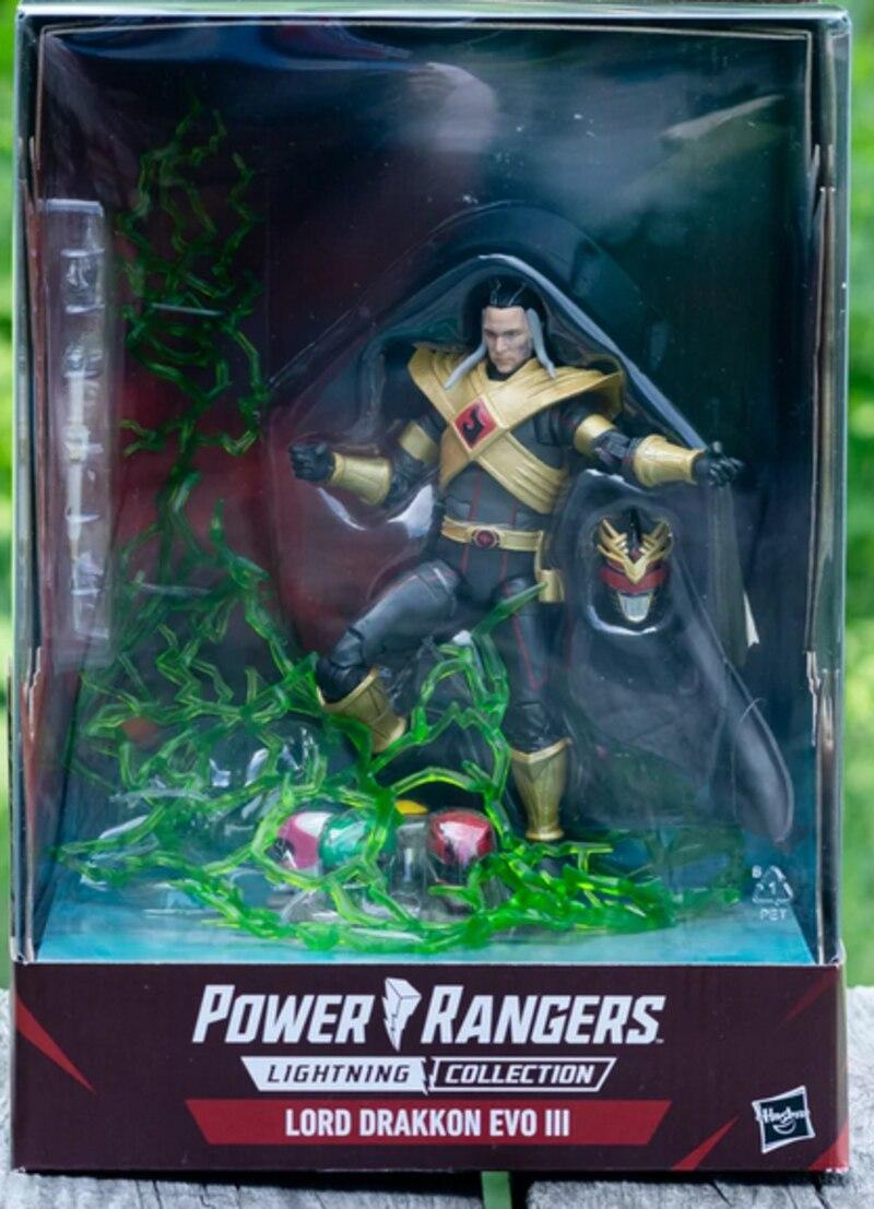 "Power Rangers Lightning Collection 6/"" Lord Drakkon Evo 3 Box Set Pulse-Con Exc"
