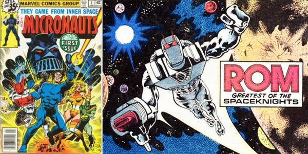 SDCC 2015 - Micronauts and ROM: The Other Transforming Toys Coming To Hasbro