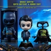 Dawn Of Justice Bruce Wayne with Batsuit & Robin Suit Cosbaby Set