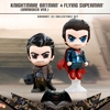 Dawn Of Justice Knightmare Batman (Unmasked) & Flying Superman Cosbaby