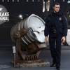 The Dark Knight Rises: 1/6th scale John Blake with Bat-Signal Collectible Set