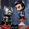 Batman v Superman: Dawn Of Justice Armored Batman & Superman Cosbaby Collectible Set