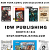 IDW Announces 2014 NYCC Exclusives