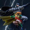 The Dark Knight Returns Batman & Robin 1/10 Art Scale Statue