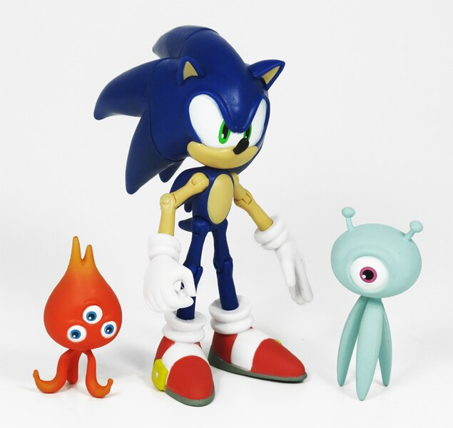 5quot sonic figure with wisps based off quotsonic colors