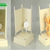Mabell Original Miniature Model Series 1/12 Scale Portable Toilet For Your Action Figures