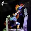 Thundercats Lion-O vs Mumm-Ra Diorama Statue From Kinetiquettes