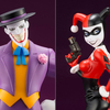 Batman: The Animated Series ArtFX+ Harley Quinn & Joker Statues
