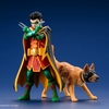 DC Comics Super Sons Robin & Ace The Bat-Hound 2-Pack ARTFX+