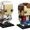 Back To The Future LEGO Marty McFly and Doc Brown BrickHeadz Figures