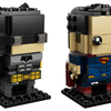 Justice League Tactical Suit Batman & Superman Brickheadz Figures From LEGO