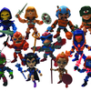 Loyal Subjects Masters Of The Universe Mini Figures