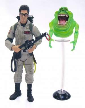 GHOSTBUSTERS Classics Dr. Egon Spengler with Slimer
