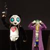 2016 SDCC Exclusive DC Comic Suicide Squad Movie Joker & Panda Man Figure Set