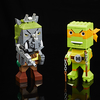 New SDCC Exclusive Teenage Mutant Ninja Turtles Kubros Michelangelo vs. Rocksteady Special Edition Set  Images