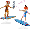 2016 SDCC Exclusive ThunderCats Wily Kit & Kat Figure Set From Mattel