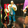 Mattel WWE Figures On Display At Wrestlemania