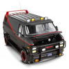 Hot Wheels Elite 1/18 A-Team Classic Van