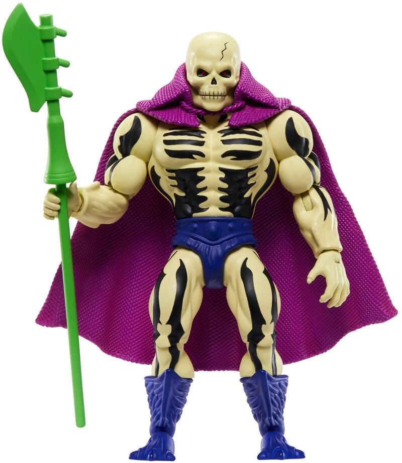 Masters of the Universe Origins squelettor WALMART exclusif dans la main