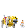 Mattel Voltron Classics Yellow Lion and Hunk Figure Review (Video)