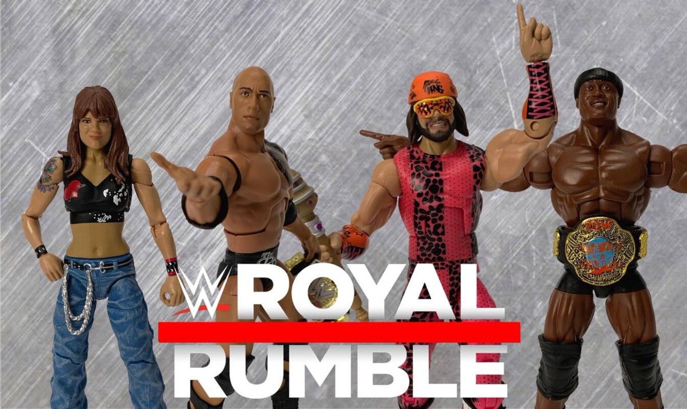 Mattel WWE ELITE Series Royal Rumble Lita Action Figure